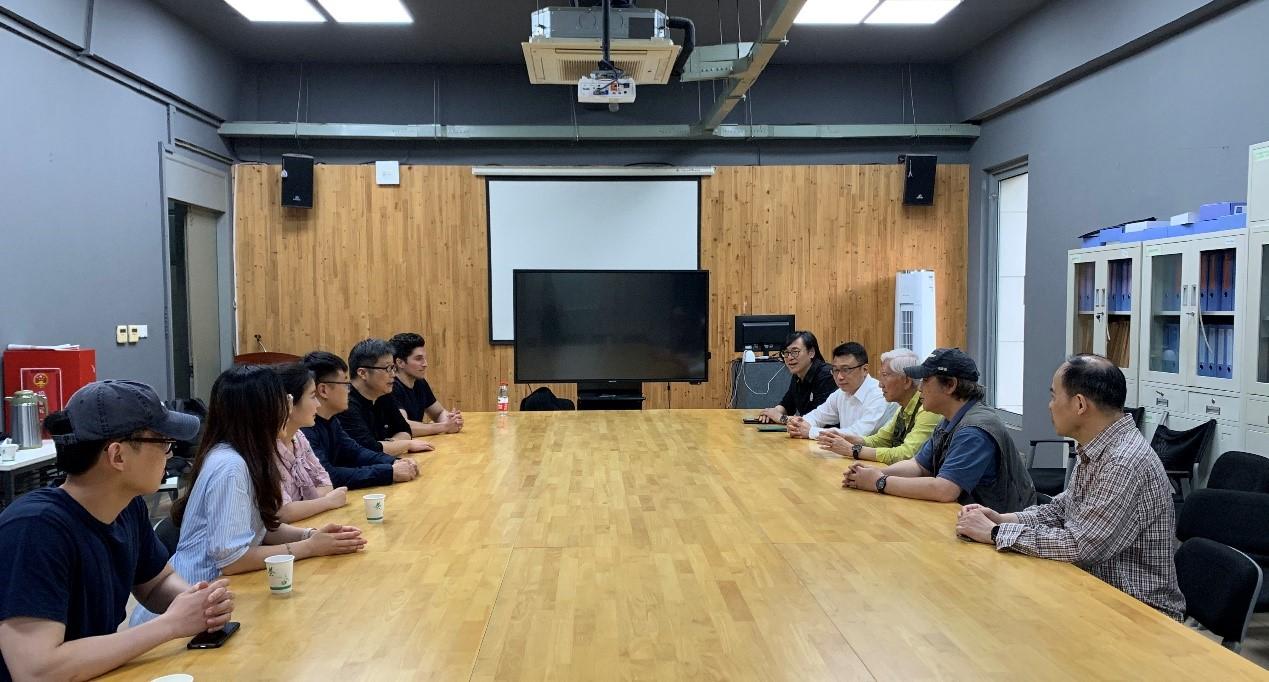 中国工业设计协会与学会开展工作交流